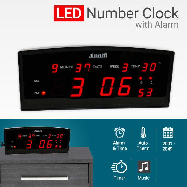 Ψηφιακό επιτραπέζιο ρολόι θερμοκρασίας-ξυπνητήρι-ημερολόγιο OEM ΟΕΜ 906d8747c08