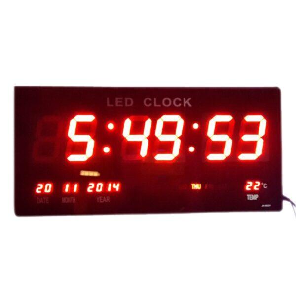 Ψηφιακό Led Ρολόι τοίχου- Ξυπνητήρι με θερμόμετρο και ημερολόγιο ΟΕΜ ed71e2b89f5