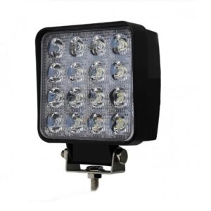 pazari4all-Προβολέας αυτοκινήτου LED 48W τετράγωνος με 16 LED 12V/24V - ΟΕΜ