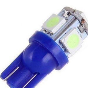 T10 W5W W16W 5 SMD LED 12V μπλέ 1 τεμ. OEM-pazari4all.gr