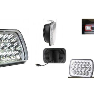pazari4all-LED προβολέας αυτοκινήτου αδιάβροχος 45W 6000K - ΟΕΜ