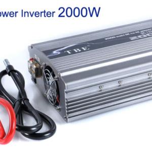 pazari4all.gr - Inverter για Αυτοκινήτα/κότερα/σκάφη 2000 Watt 12V TBE 2000W
