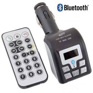 pazari4all.gr - Car MP3 Player FM Transmitter Bluetooth με τηλεχειριστηριο!!!