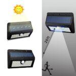 pazari4all.gr-Ηλιακο πανελ 20 LED εσωτερικη μπαταρια 3.7V/2200mAh 6V