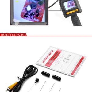 pazari4all.gr-Inspection Camera - Ψηφιακή Κάμερα Ενδοσκόπιο με Οθόνη 2.3in