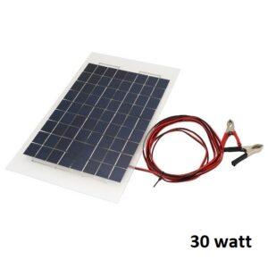 pazari4all.gr - ΦΩΤΟΒΟΛΤΑΪΚΟ ΠΑΝΕΛ ΑΛΟΥΜΙΝΙΟΥ ΜΟΝΟΚΡΥΣΤΑΛΙΚΟ 30 Watt - SOLAR ΒΑΟ