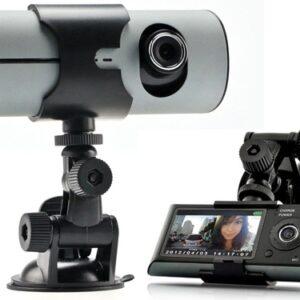 pazari4all.gr-Κάμερα Αυτοκινήτου Καταγραφικό Με 2 Κάμερες και GPS - DVR R300