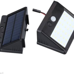 pazari4all.gr - Εξωτερικά αδιάβροχα 25 LED φώτα με αισθητήρα ηλιακής κίνησης, διαχωριζόμενο σχεδιασμό πάνελ με καλώδιο προέκτασης 2 μέτρων για μπροστινή πόρτα, κήπο, αυλή, αίθριο, κατάστρωμα, φωτιστικό έκτακτης ανάγκης γκαράζ