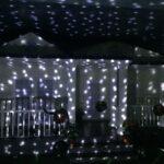 Αδιάβροχος Χριστουγεννιάτικος Προβολέας LED με Εφέ Χιονιού, πολύχρωμες κουκκίδες rgb