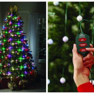 pazari4all.gr-Χριστουγεννιάτικα Φώτα από BulbHead, Εσωτερικό Χρώμα LED (16 Φωτεινά Μοτίβα)