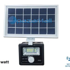pazari4all.gr - 10w LED προβολέας εξωτερικού χώρου με Φωτοβολταϊκό Πάνελ και ανίχνευση κίνησης