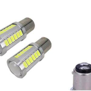 pazari4all.gr-Διπολική Λάμπα LED1156 12V CAN BUS 18W 6000K Σετ 2τμχ