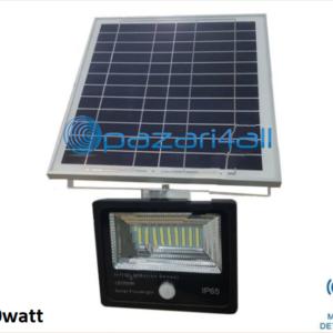 pazari4all.gr - 50w LED προβολέας εξωτερικού χώρου με Φωτοβολταϊκό Πάνελ και ανίχνευση κίνησης