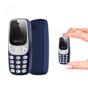 pazari4all.gr-BM10 Mini Bluetooh κινητό τηλέφωνο με Micro SD Card Slot και φωνητική αλλαγή L8STAR-BL