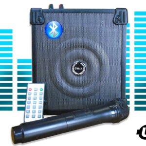 pazari4all.gr-CMIK MK-A2 Φορητό Ηχοσύστημα Bluetooth USB/SD Karaoke Mp3 Player