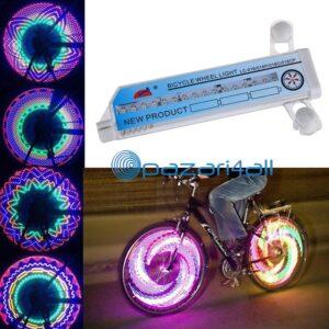 pazari4all.gr - WHEELiGHT Τροχός ποδηλάτου με 32 LED αναλαμπής ακτίνων LC-D016