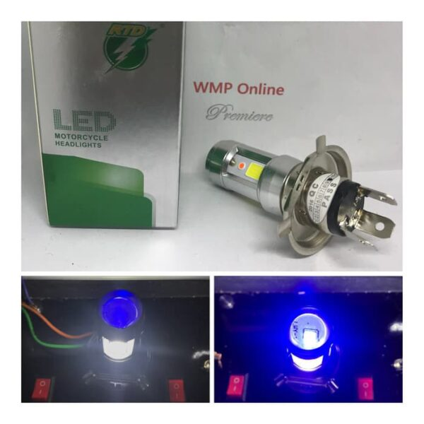 pazari4all.gr -LED λάμπα αυτοκινήτου - μηχανής H4 rayton e01c-l