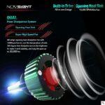 pazari4all.gr-LED Φώτα Αυτοκινήτου NovSight N8 H4 6500K 16000LM (2×8000) 60W (2x30W) CAN BUS