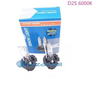 pazari4all.gr -2PCS Υψηλής ποιότητας D2S 35W 12V αυτοκίνητο HID D2S Xenon λαμπτήρας D2S 6000K