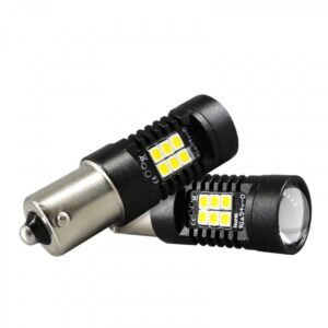 pazari4all.gr-Μονοπολική λάμπα 9W LED 1156 21 smd canbus