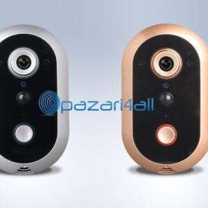pazari4all.gr-720P Έξυπνο κουδούνι πόρτας με κάμερα