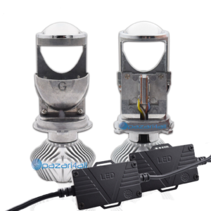 pazari4all.gr- LED λάμπες H4 Mini 1.5 ιντσών Αυτοκινήτου Hi / Lo Φωτισμός Super Brightness 60W Λευκό 5000K 6000K DIY