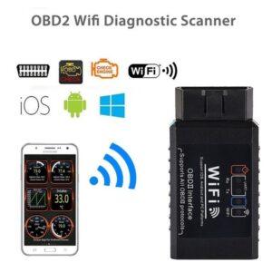 pazari4all.gr-Διαγνωστικό OBD2 ELM327 με WiFi για Android και IOS