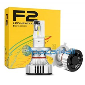 pazari4all.gr-Λάμπες LED Η4/Η7 με Φίλτρο Turbo 6K Λευκό