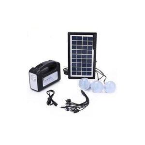 pazari4all.gr-GDLITE 3 Plus - Ηλιακό σύστημα 3 λάμπες, φώτα LED και κιτ φόρτισης τηλεφώνου