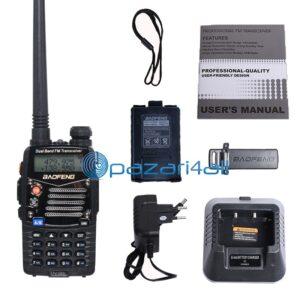 pazari4all.gr-BAOFENG UV 5RL αναβαθμισμένη έκδοση Walkie Talkie Dual Band CB ραδιόφωνο