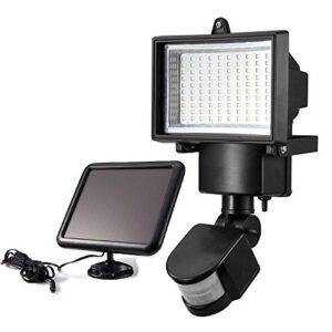 pazari4all.gr-Ηλιακός Προβολέας Με 120 LED Και Ανιχνευτή Κίνησης – Solar Security Light