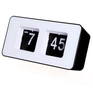 pazari4all.gr-Μοναδικό Ρετρό κύβος Flip ρολόι