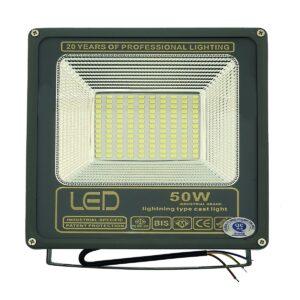 pazari4all.gr-LED προβολέας super slim αδιάβροχος 50w 4.500lm Cool White 220V OEM