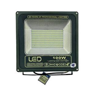 pazari4all.gr-LED προβολέας super slim αδιάβροχος 100w 9.000 lm λευκό ψυχρό 220v OEM