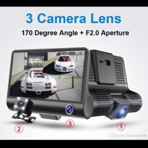 "pazari4all.gr-Video DVR Αυτοκινήτου Full HD 1080P με Οθόνη 4"" Δυνατότητα Ανίχνευσης και Καταγραφής Κινήσεων"
