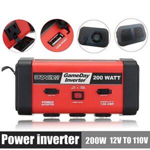 pazari4all.gr - Inverter GameDay 12v-120v 200watt & Usb