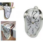 pazari4all.gr - Επιτραπέζιο Ρολόι Που Λιώνει – Melting Clock