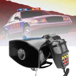 pazari4all.gr- 100W Τηλεβόας - Ντουντούκα - Κόρνα - Σειρήνα - Μεγάφωνο με Μικρόφωνο Αυτοκινήτου - 12V με 7 διαφορετικούς ήχους