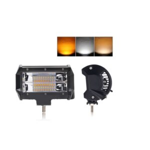 pazari4all-Προβολέας 72W 12/24volt Dual Color Strobe LED Bar 4X4 - ΟΕΜ