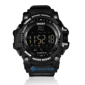pazari4all.gr-Αδιάβροχο αθλητικό ρολόι με βηματομετρητή χειρός ανδρικό