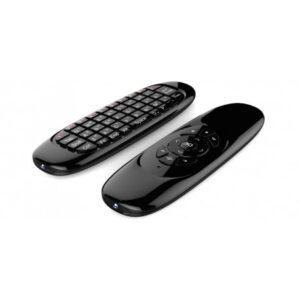 pazari4all.gr-Ασύρματο Τηλεχειριστήριο – Πληκτρολόγιο – Ποντίκι Air Mouse C120 2.4Ghz – Wireless Keyboard