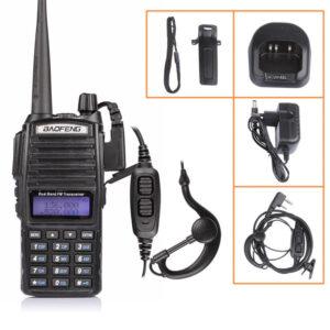 pazari4all.gr Ασύρματος DUAL BAND Πομποδέκτης της VHF/UHF – BAOFENG UV-82