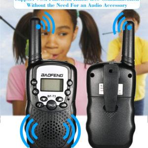 pazari4all.gr Ασύρματοι Πομποδέκτες - Eνδοεπικοινωνία Baofeng MF-T3 Walkie Talkie σετ 2 τεμαχίων