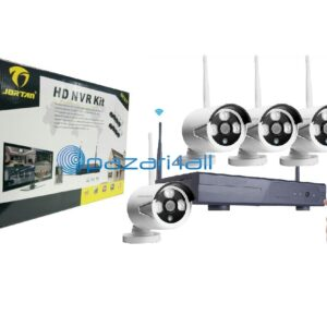 pazari4all.gr Kit Nvr με 4 Κάμερες Ip 1.3mp Πλήρης Hd Dvr Wireless Jortan