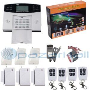 pazari4all.gr Συναγερμός με Ανιχνευτή αισθητήρα κλήσης 108Zone Wireless GSM SMS