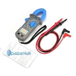 pazari4all.gr-Ψηφιακό Πολύμετρο μετρητής εναλλασσόμενου ρεύματος 600A 600V TS200