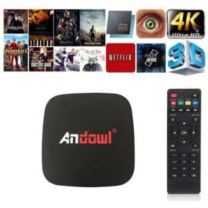 pazari4all.gr-Android tv box lite 4K HD 7.1.2 smart tv wifi Andowl Q4 16GB