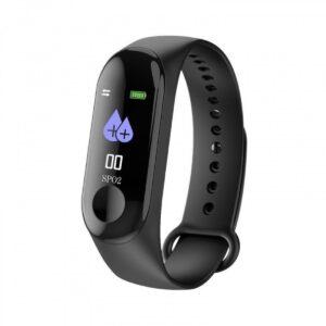 pazari4all.gr- Smart Bracelet Bluetooth Smartwatch Με Καταγραφή Βημάτων