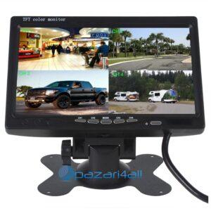 "pazari4all.gr - TFT LCD color Monitor 7"" 12V για εφαρμογές 12V (Αυτοκίνητα, Φορτηγά, CCTV 12V) 591023 UUPOWER"