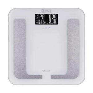 pazari4all.gr EMOS smart ζυγαριά μπάνιου EV107, με μετρήσεις λίπους, μάζας, bluetooth EMS-EV107